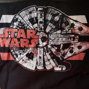 NEW Star Wars Black HD Cotton Short Sleeve Tshirt